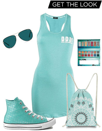 sporty teal