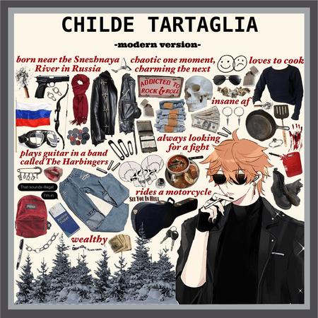 GENSHIN IMPACT: Childe Tartaglia (modern version)