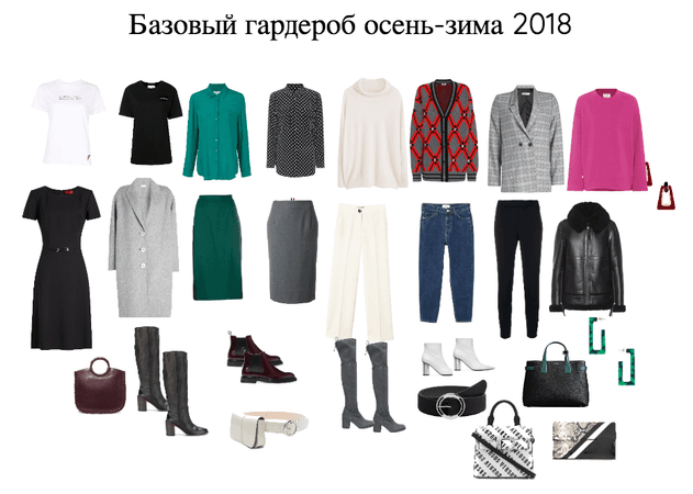 base wardrobe FW2018