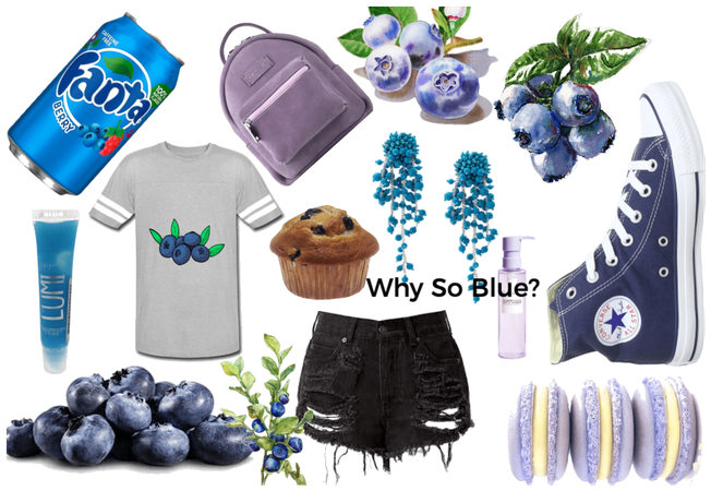 Blueberry Outfit