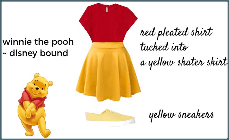 WInnie the pooh, disneybound