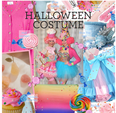 Candy costume DIY