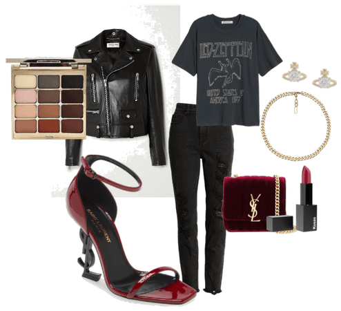 My outfit for a date with Gerald Gillum