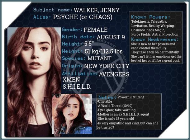 Jenny Walker/Psyche