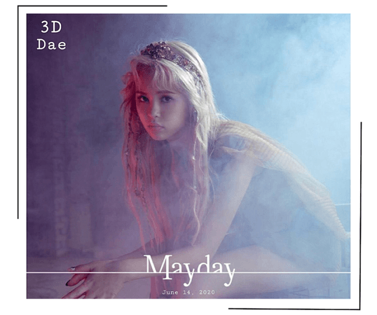 {3D}'Mayday' Japanese Debut Dae Teaser