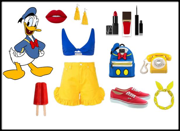 Donald Duck! Disney Bound