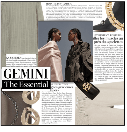 Fashion File: Gemini Essential Closet - Contest