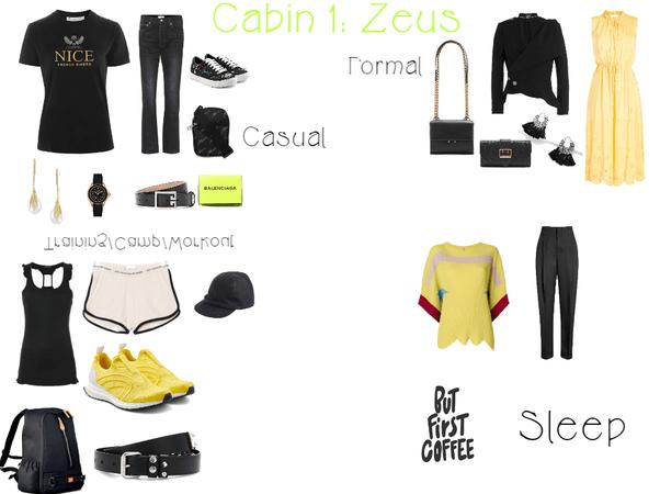 Cabin 1: Daughter of Zeus