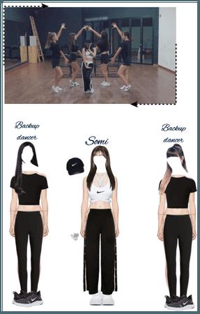 Somi Love u Dance Practice-8/17/20