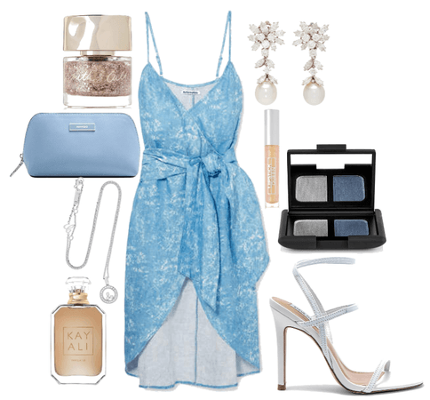 Spring holiday in the blue