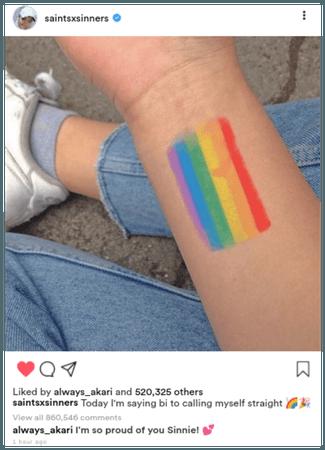 GLITZY [화려한] Sinn Instagram Update