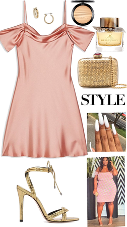Inspired Summer Night Silk Outfit