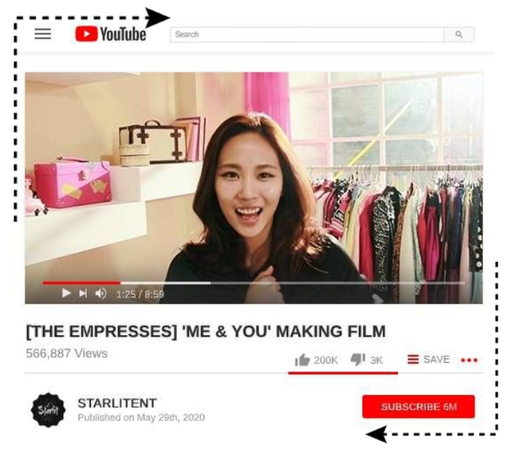 [EMPRESS] YOUTUBE: 'ME & YOU' MAKING FILM