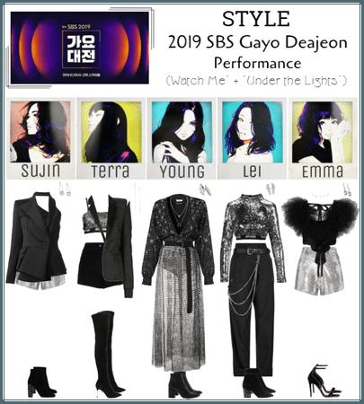 STYLE 2019 SBS Gayo Daejeon (Performance)