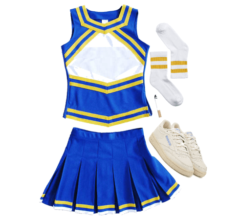 Joanna Rivers Cheer outfit