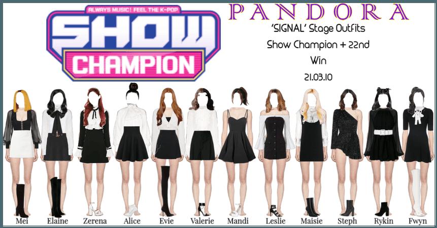 PANDORA [Show Champion] 'SIGNAL' Performance