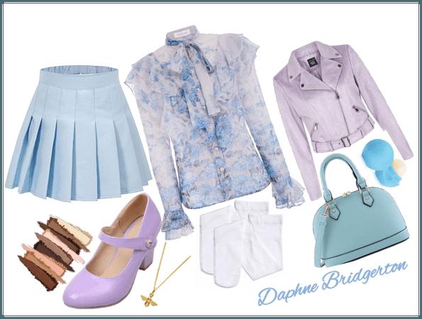 Daphne Bridgerton (Modern Version) Outfit 1