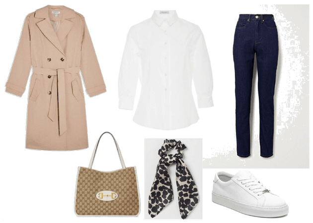 Outfit con básicos para otoño