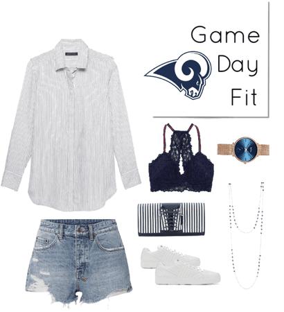 la rams game day fit week 1