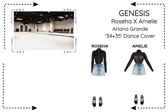 GENESIS (게네시스) Roseha x Amelie '34+35' Cover