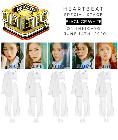 [HEARTBEAT] 200614 INKIGAYO SPECIAL STAGE | 'BLACK OR WHITE'