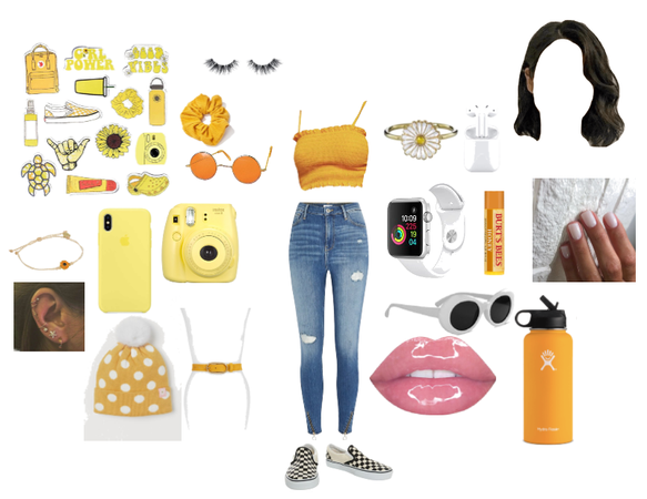 Yellow Soft Aesthetic Outfit