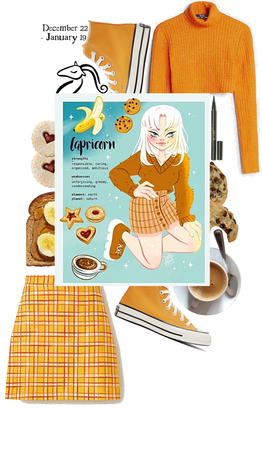 capricorn drawing inspired outfit