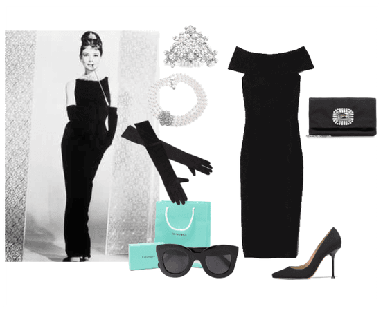 Audrey Hepburn's Breakfast At Tiffany's Look
