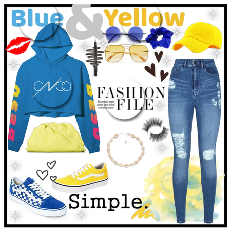 Blue or Yellow Challenge