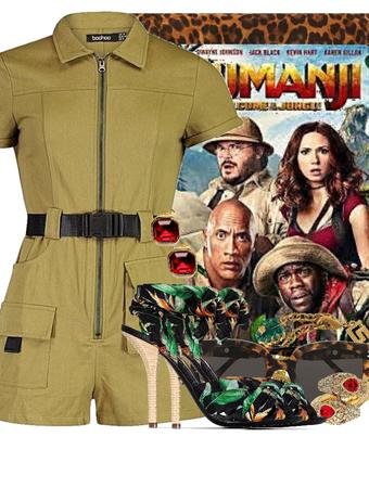 Jumanji - Movie inspired contest