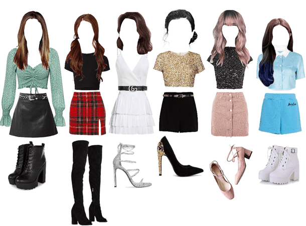 Outfits.