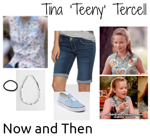 Tina 'Teeny' Tercell from Now and Then