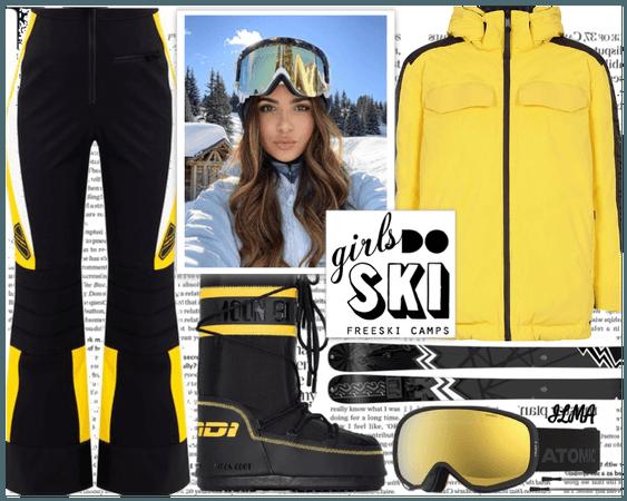 Girls do Ski