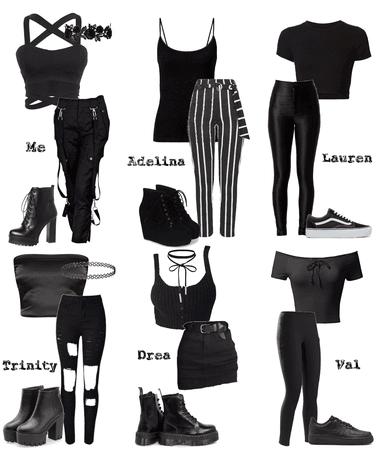 if we wore black
