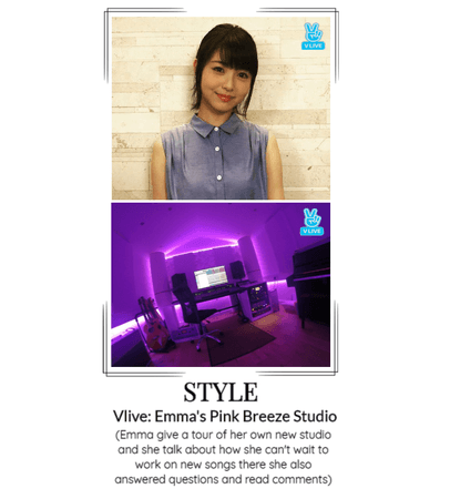 STYLE Vlive: Emma's Pink Breeze Studio