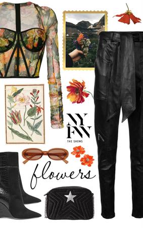 NYFW 2019 Fall Flowers