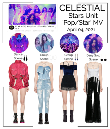 세레스티알 (Celestial) | 'Pop/Star' M/V - Dany