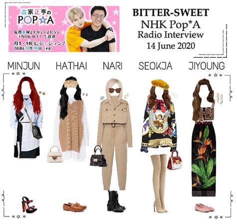 BITTER-SWEET [비터스윗] NHK Pop*A 200614