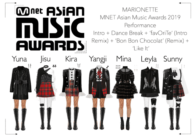 MARIONETTE (마리오네트) MNET Asian Music Awards 2019