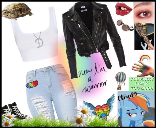 ~Rainbow Dash as Human~