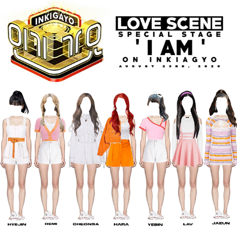LOVE SCENE | 200823 INKIGAYO SPECIAL STAGE | 'I AM'
