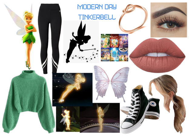 modern day characters 56: Tinkerbell