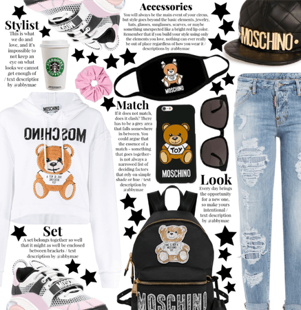 Casual Spring 2022 - Moschino Fangirl