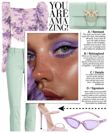 SUMMER 2020: Lavender + Mint Casual