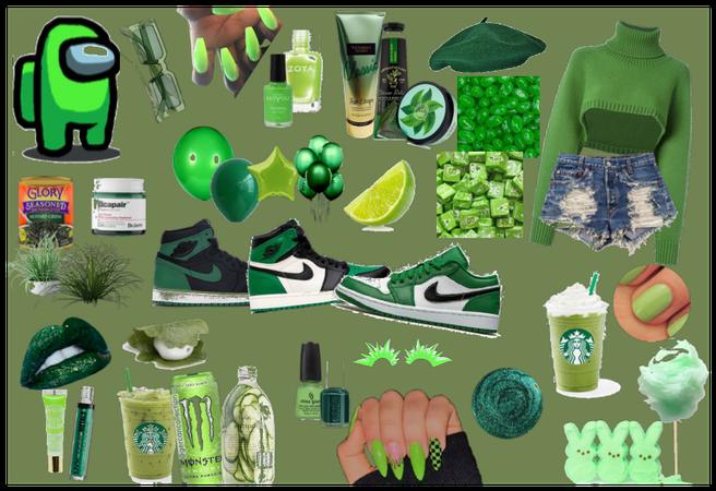 GREEN SET🌲🤢💚