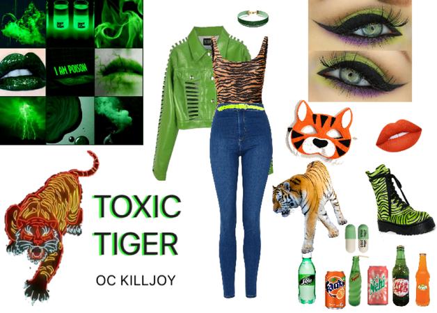 TOXIC TIGER - OC Killjoy