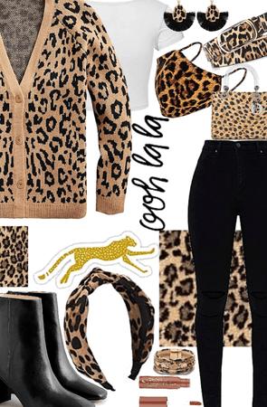 Lepard Print+ Sweater Weather