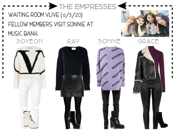 [THE EMPRESSES] VAPP: MEMBERS VISIT SONNIE