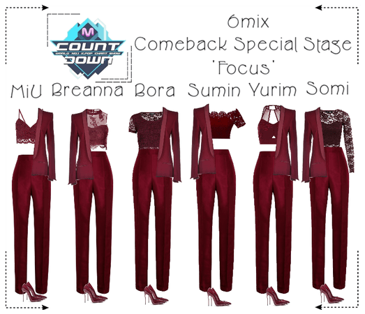《6mix》M Countdown Comeback Special Stage