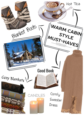 Warm Cabin style must haves
